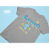 Cam's ASL Short-Sleeve Unisex T-Shirt-Cam's Coffee Co.-Black-S-Cam's Coffee Co.