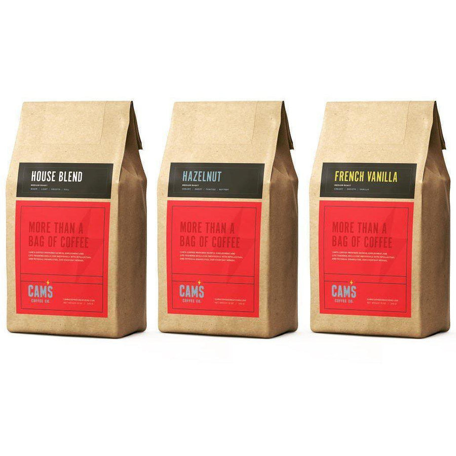Cam's Coffee Creations Sample Pack - Cam's Coffee Co.