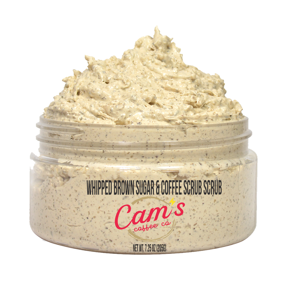 Whipped Brown Sugar & Coffee Scrub-Cam's Coffee Co.-Cam's Coffee Co.