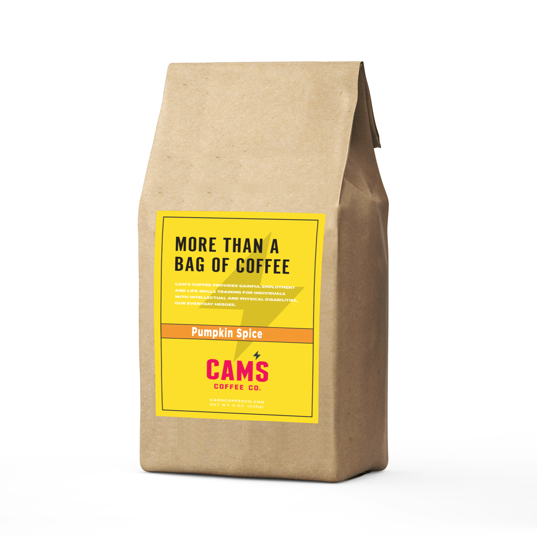 Pumpkin Spice Ground Coffee-Cam's Coffee Co.-Cam's Coffee Co.
