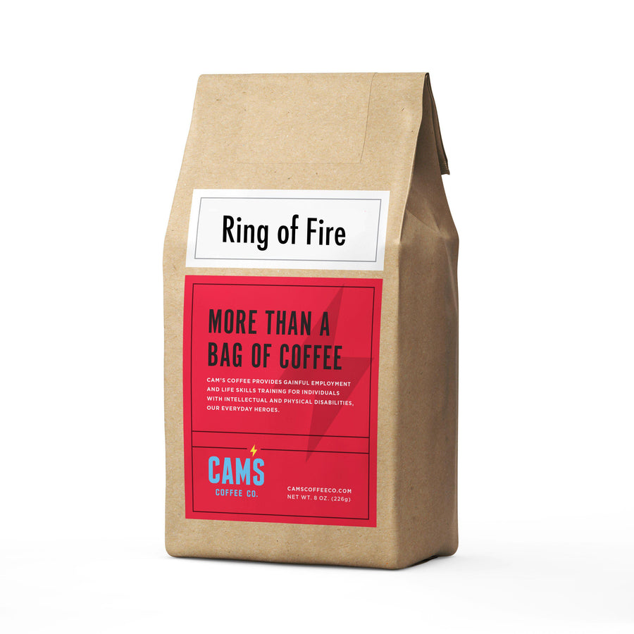 Ring of Fire Ground Coffee-coffee-Cam's Coffee Creations-ground-Cam's Coffee Co.
