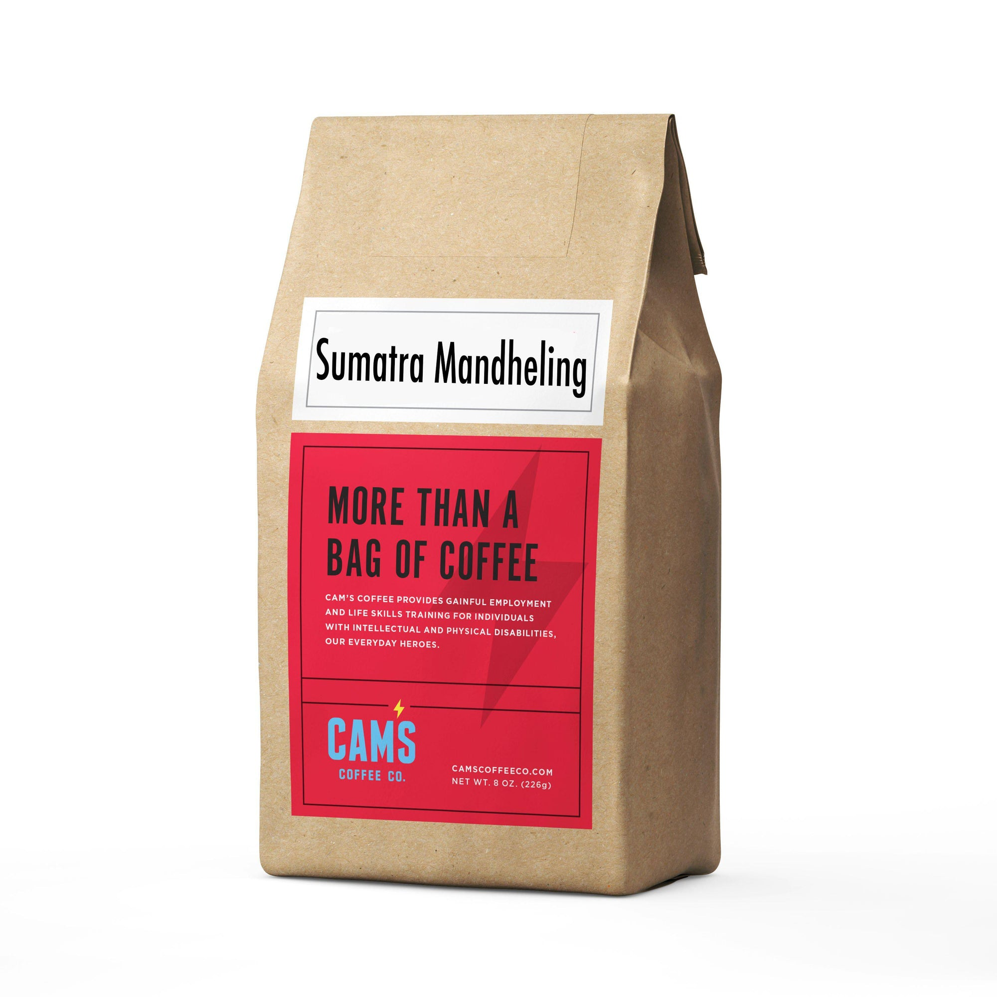 Sumatra Mandheling-coffee-Cam's Coffee Creations-whole bean-Cam's Coffee Co.