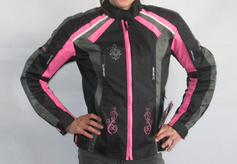 LADIES FROX TEXTILE JACKET PINK