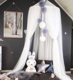 Beautiful Hanging Round Dome Bed Canopy Mosquito Net 240CM,Home Decorators,[tags] - DeliteShopping