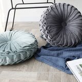 Round Luxury Velvet Throw Pillow Cushion (8 Colors),,[tags] - DeliteShopping