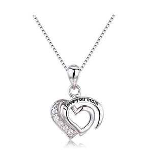 I LOVE YOU MOM Charms Pendant Necklace Best Gift For Mothers,,[tags] - DeliteShopping