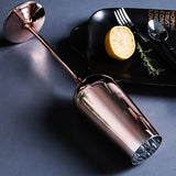 Elegant Rose Gold Red Wine Champagne Glass Home Decor,,[tags] - DeliteShopping