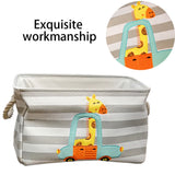 Cute Dinosaur/Animals Foldable Storage Basket/ Laundry Bag For Kids/Baby,Home Decorators,[tags] - DeliteShopping