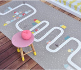Non-Slippery Game Play Mat Crawling Carpet For Kids