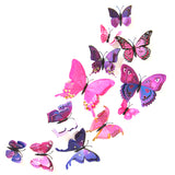 Various Size Butterfly Wall Stickers For Living Room, Bedroom, Kids Room,,[tags] - DeliteShopping