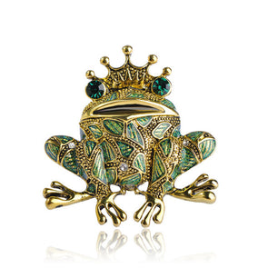 Frog Brooch (Green),,[tags] - DeliteShopping