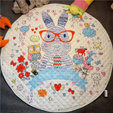 Round Cartoon Padded Carpet For Kids Baby Room,,[tags] - DeliteShopping
