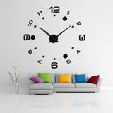New DIY Large Decorative Wall Clock,Home Decorators,[tags] - DeliteShopping