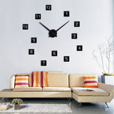 Large DIY Wall Clock In 9 Colors,Home Decorators,[tags] - DeliteShopping