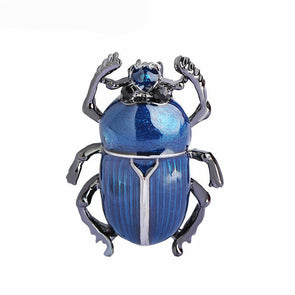 Blue Beetle Elegant Brooch,,[tags] - DeliteShopping