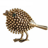 Lovely Little Bird Metal Brooch,,[tags] - DeliteShopping