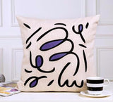 Abstract Eyes Geometric Modern Cushion Cover,Home Decorators,[tags] - DeliteShopping