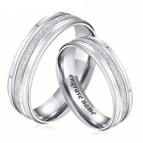 Stainless Steel Special Personalized Silver Rings,,[tags] - DeliteShopping