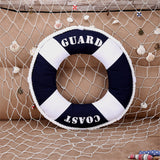 Mediterranean Lifebuoy Decorative Nautical Cushion Pillow,,[tags] - DeliteShopping