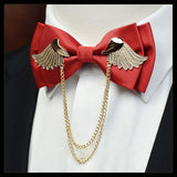 High Quality Metal Golden Wings Bow Tie for Men,,[tags] - DeliteShopping