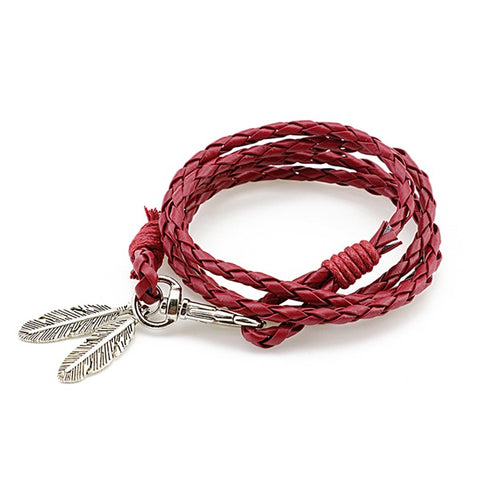 HOT SELLING - Unisex Multilayer Feather Bracelet,,[tags] - DeliteShopping
