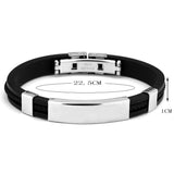 Personalized Engraved Stainless Steel Men's Bangles,,[tags] - DeliteShopping
