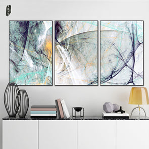 (3pcs/set) Modern Abstract Canvas Landscape Paintings Wall Art Poster Home & Room Decor,Home Decorators,[tags] - DeliteShopping