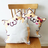 Cartoon Corgi Pillow Cushions Toys Present Gift For Kids Home Decor,Home Decorators,[tags] - DeliteShopping