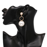 Simulated Pearl Multiple Design Drop Dangle Earrings Women Jewelry,,[tags] - DeliteShopping