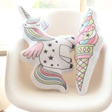 Unicorn Cat Seahorse Ice Cream Rainbow Pillow Living Room Kids Room Decor 23*55cm,Home Decorators,[tags] - DeliteShopping