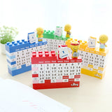 Creative Building Blocks Calendar,Home Decorators,[tags] - DeliteShopping