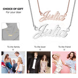 Name Necklace Personalized Copper Letter Gift For Her,,[tags] - DeliteShopping