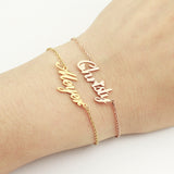 Custom Name ID Bracelet Personalized Gift For Her,,[tags] - DeliteShopping