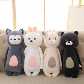 Cotton Bear Cow Cattle Animals Toy Pillow Kids Bedroom Decoration,,[tags] - DeliteShopping