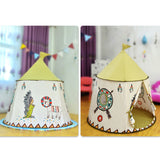 Portable Indiana Castle Children Play Tent Teepee Tent Playhouse For Kids,Home Decorators,[tags] - DeliteShopping