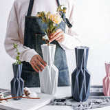 Elegant Origami Ceramic Flower Vases,Home Decorators,[tags] - DeliteShopping