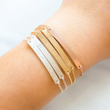 Personalized Name Bar Bracelet 40*4 mm,,[tags] - DeliteShopping