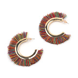 Vintage Big Fringing Earrings For Women Bohemia Tassel Earrings,,[tags] - DeliteShopping