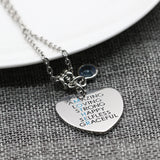 Stainless Steel Charming Pendant Necklace For Mother,,[tags] - DeliteShopping