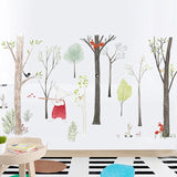 Europe Style Animals Fairy Tales Woodland Wall Stickers for Nursery Kids Room Decor,Home Decorators,[tags] - DeliteShopping