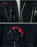 Elegant Pectoral Brooch For Men's Suit,,[tags] - DeliteShopping