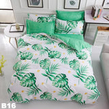 Home Bedding Sets 4Pcs Bed Sheet Duvet Cover Set Pillowcase Without Comforter II,,[tags] - DeliteShopping