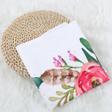 Flower Printed Baby Blankets Swaddle Wrap Soft Fabric For Photography,Home Decorators,[tags] - DeliteShopping