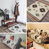 Europe Geometry Bohemian Tassel Cotton Blanket For Bed Sofa,Home Decorators,[tags] - DeliteShopping
