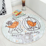 Round Cartoon Baby & Kids Soft Play Mat Carpet,Home Decorators,[tags] - DeliteShopping