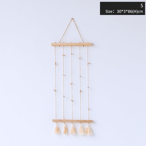 Nordic Rope with Clips Photography/ Postcard Display,Home Decorators,[tags] - DeliteShopping