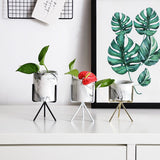 Nordic Style Marble Art Vase With Minimalism Design,Home Decorators,[tags] - DeliteShopping