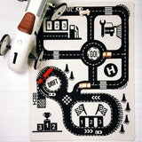 Nordic Style Baby & Kids Educational Car Track Play Mat (90*140cm),Home Decorators,[tags] - DeliteShopping