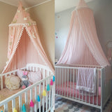 Nordic Style Kids Dome Canopy Mosquito Net With Pattern,Home Decorators,[tags] - DeliteShopping