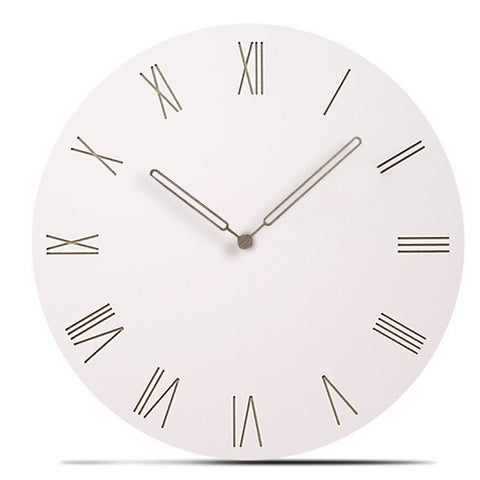 Modern Wooden Needle Silent Roman Number Wall Clocks,Home Decorators,[tags] - DeliteShopping